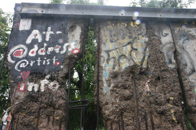 The Berlin Wall - or what is left