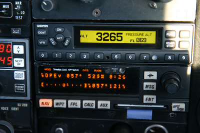 Transponder and GPS