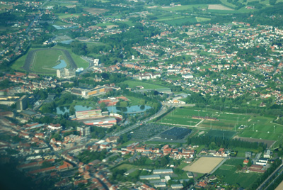 Waregem from the air