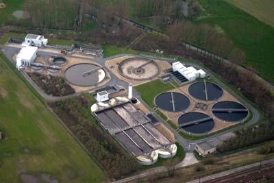 Water treatment plant in Waregem