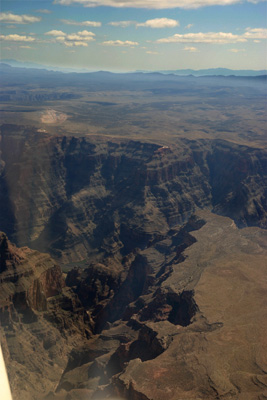 Approaching the West Rim of the Grand Canyon