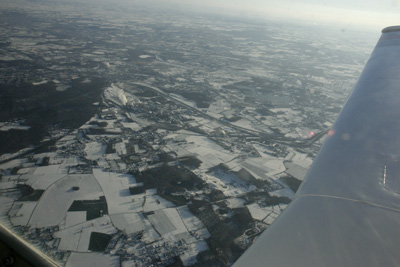 Winter from the air